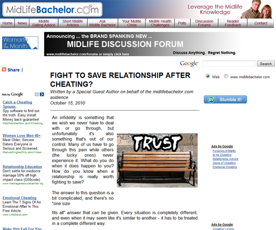 Is it worth fighting to save your relationship after an infidelity? post image