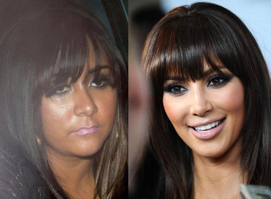 Snooki vs Kim Kardashian